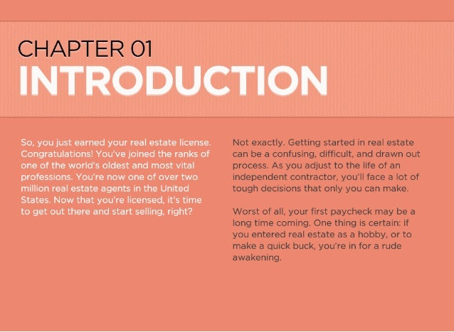 real estate agent guide pdf