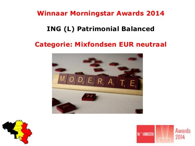 Winnaar Morningstar Awards 2014 categorie mixfondsen eur neutraal