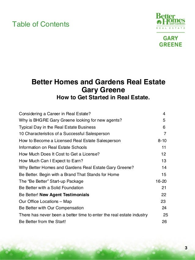 Winning Careers With Better Homes And Gardens Real Estate Gary Greene