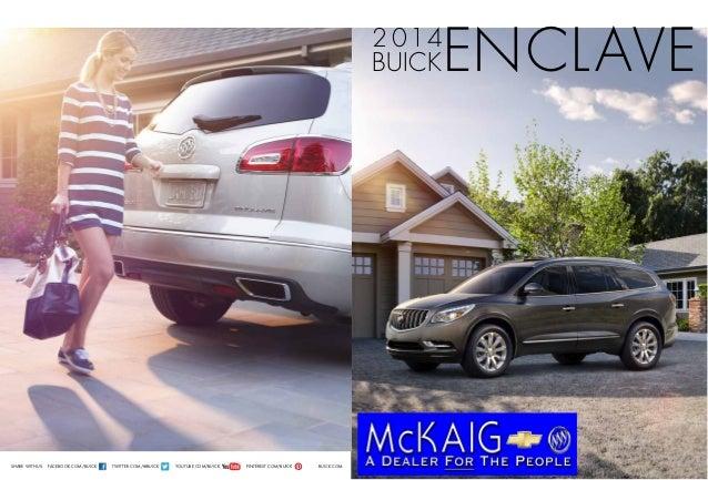 2014 Buick Enclave Brochure McKaig Chevrolet Buick