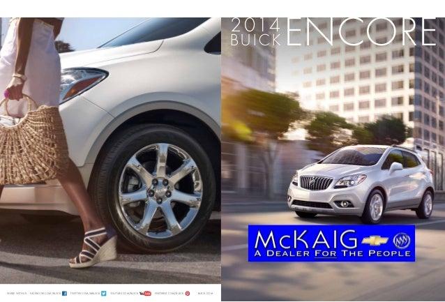 2014 Buick Encore Brochure McKaig Chevrolet Buick