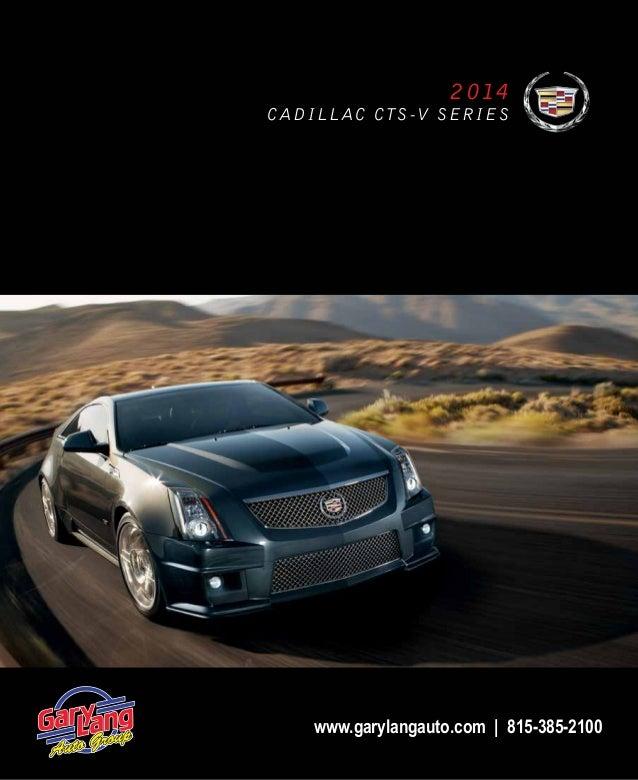 Gary Lang Cadillac >> 2014 Cadillac CTS-V Digital Brochure