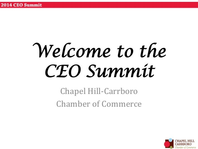 2014 CEO Summit