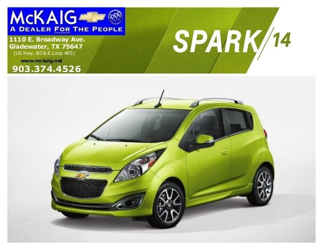 2014 Chevrolet Spark Information Brochure McKaig Chevrolet Buick