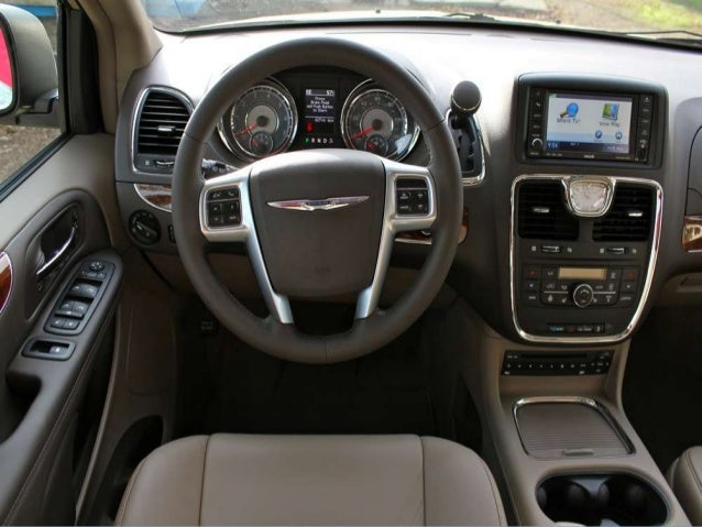 2013 chrysler town and country manual