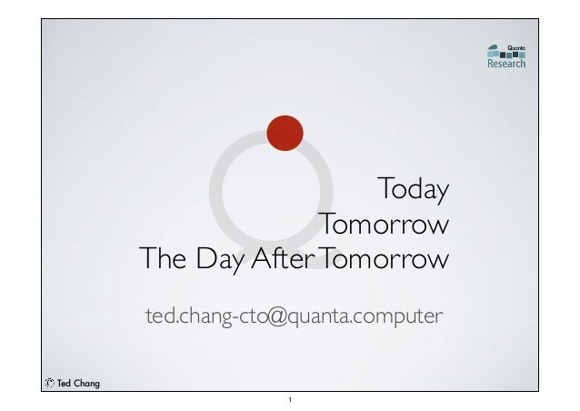 Ted Chang ted.chang-cto@quanta.computer
