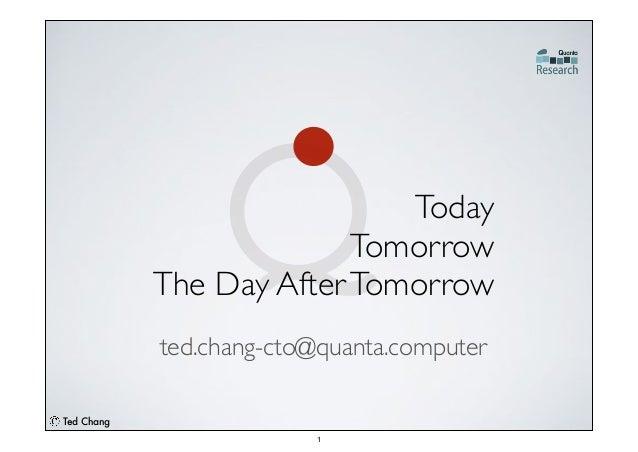 2014 CPX Conference_Technology Disruption Forum_Quanta Computer