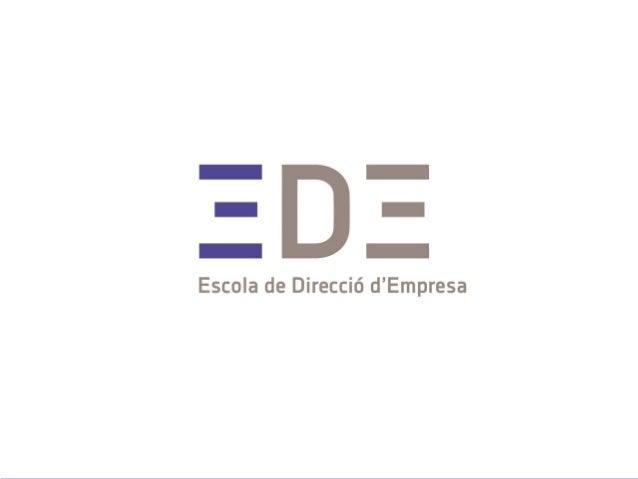 2014 Formación EDE Física de organizaciones y gestión del cambio