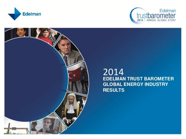 2014 Edelman Trust Barometer: Global Energy Findings
