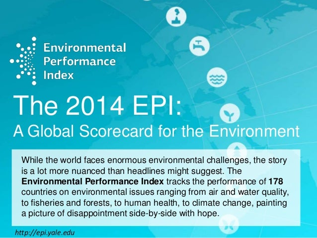 2014 Environmental Performance Index Listicle