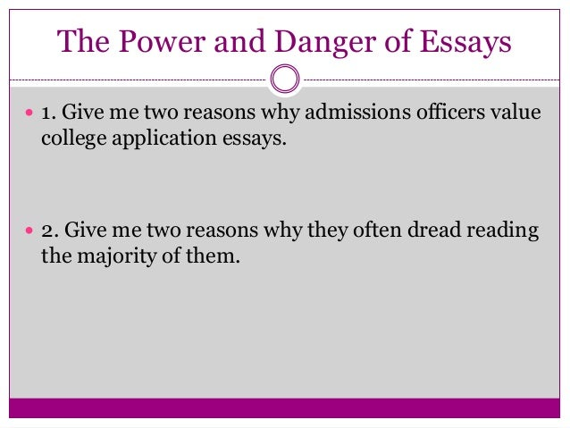 Transfer application essay