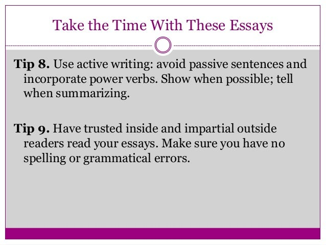 How to write a one page essay to go to a magnet middle school?
