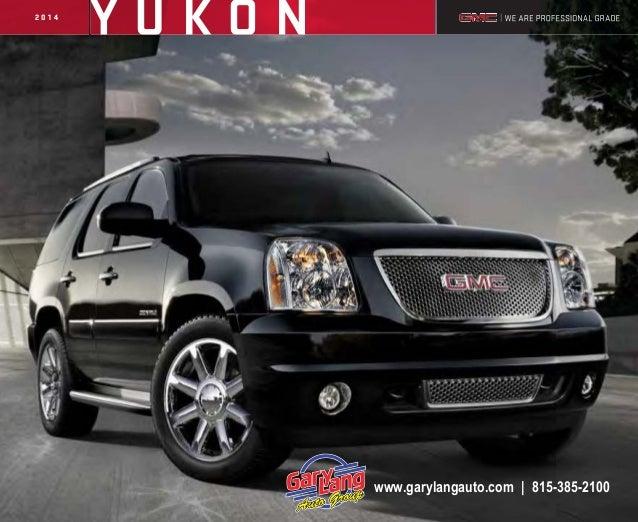2014 GMC Yukon Brochure