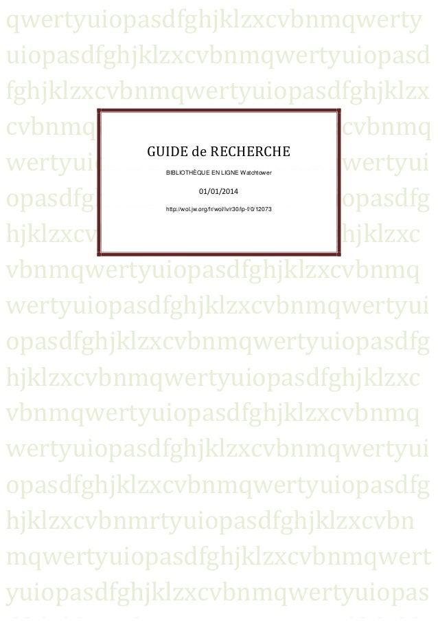 2014 guide de recherche rsg 2014
