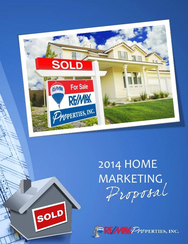 Terry naber. RE/MAX Properties, Colorado Springs, CO., 2014 Home Marketing Proposal