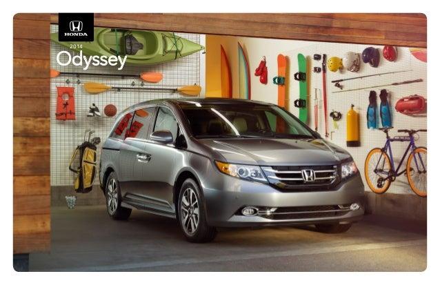 2014 honda odyssey brochure for el paso las cruces for Honda dealership las cruces