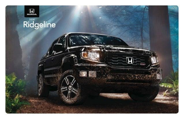 2014 honda ridgeline brochure for el paso las cruces for Honda dealership las cruces