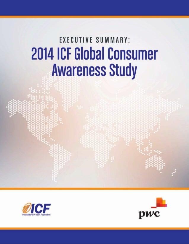 2014 ICF Global Consumer Awareness Study