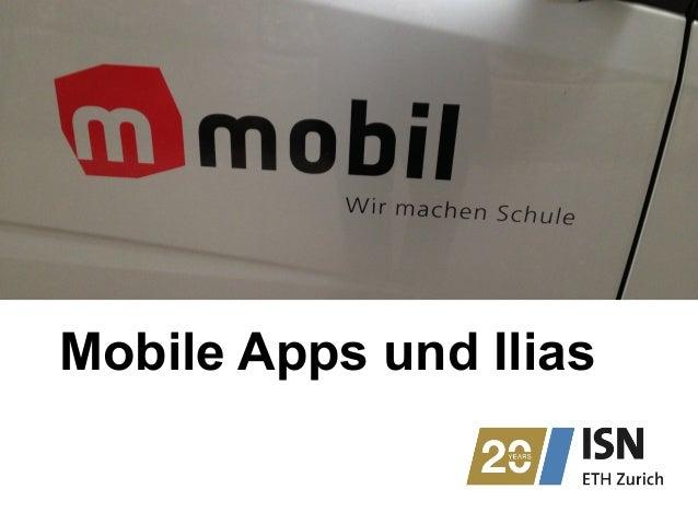 Mobile Apps und Ilias