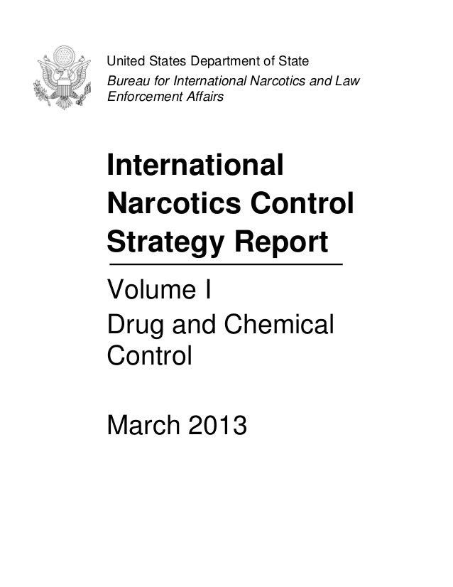 the international issue on narcotics The united nations inherited from the league of nations a system of international narcotic drug control which had proved itself capable of operating efficiently in its field this was based on six existing treaties,1 to which were added three more under the auspices of the united nations: the 1946 protocol for transferring the.
