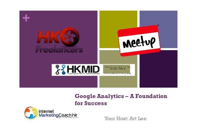 Google Analytics - Foundation for Success