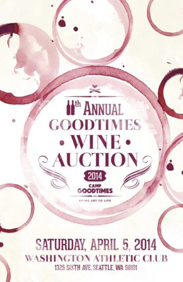 2 Live Auction Item # 1 COMMITTEE CELLAR STARTER Your 2014 Wine Auction Committee has selected yet another stellar collect...