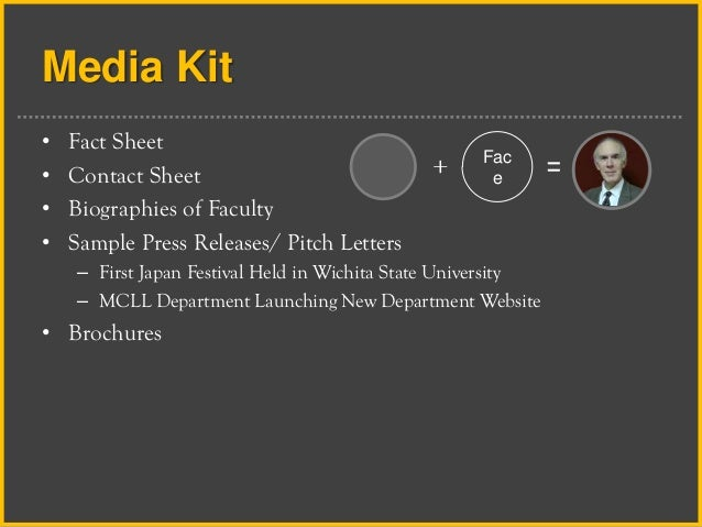 Media Fact Sheet Media Kit • Fact Sheet
