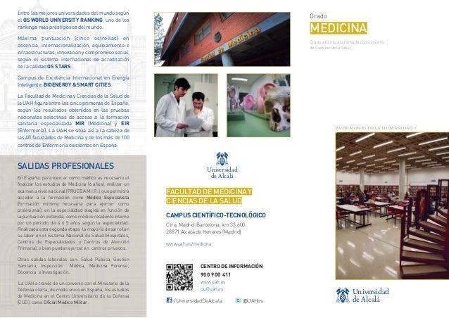 Ciencias de la Salud - Grado en Medicina