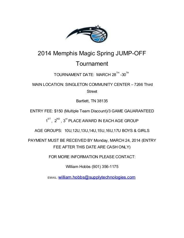 2014 memphis magic spring jump off tournament