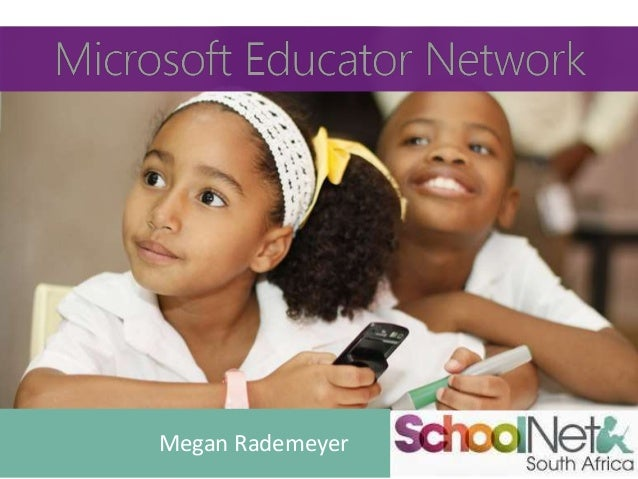 Microsoft Educators Network presentation 2014