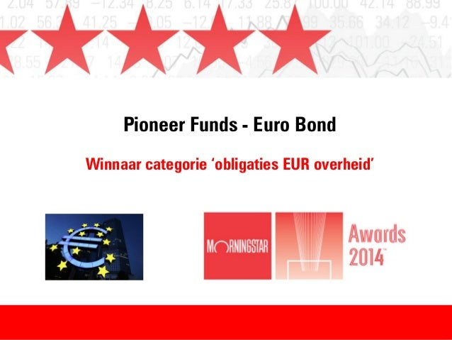 Winnaar Morningstar Awards 2014 - categorie: obligaties EUR Overheid