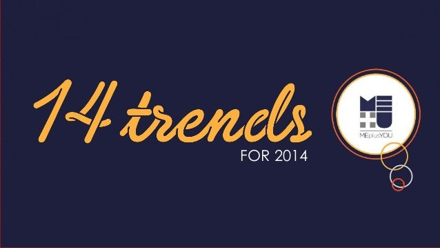14 Marketing Trends for 2014
