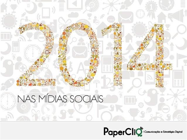 2014 nas mídias sociais