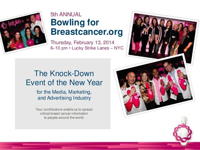2014 NYC Bowling for Breastcancer.org - February 13, 2014