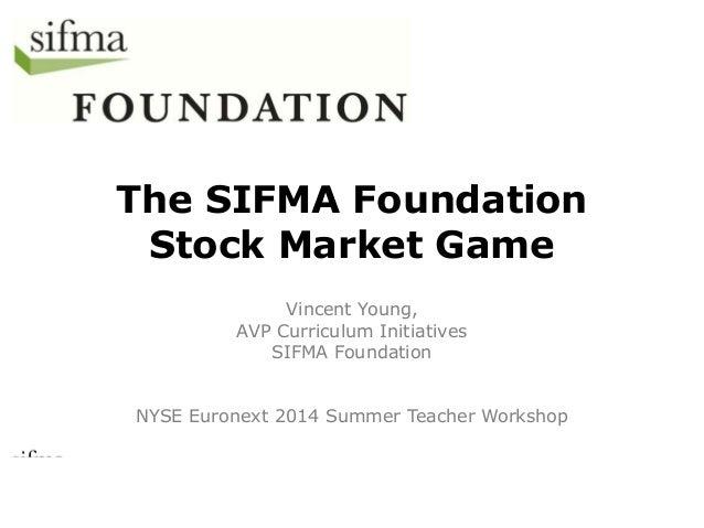 2014 NYSE Teacher Workshop Presentation