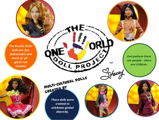 Everywhere there are people - there are children. These dolls were created to celebrate global diversity. The Prettie Girl...