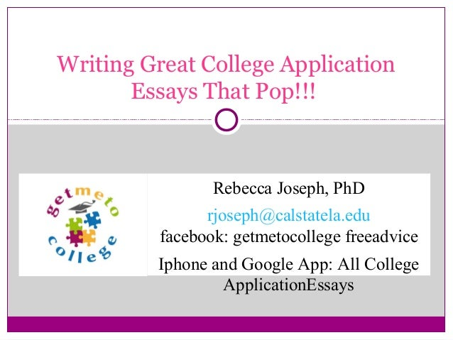 Buy college application essays 2014