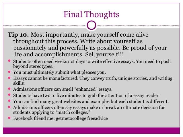 Scholarship Essay Writing Workshop - image 5
