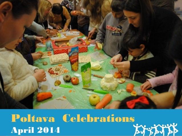 2014 Congregation Beth Am of Poltava Celebrates Passover