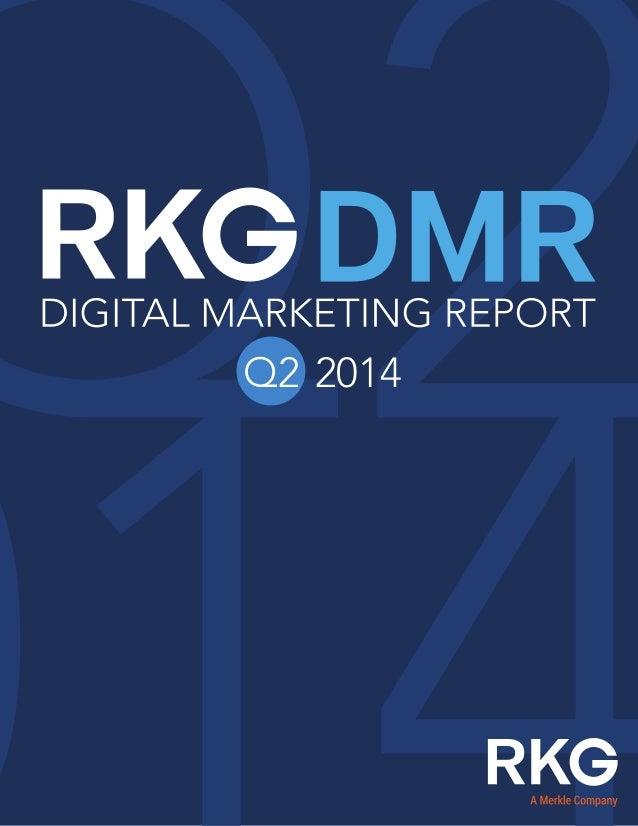 RKG digital marketing report 2014Q2