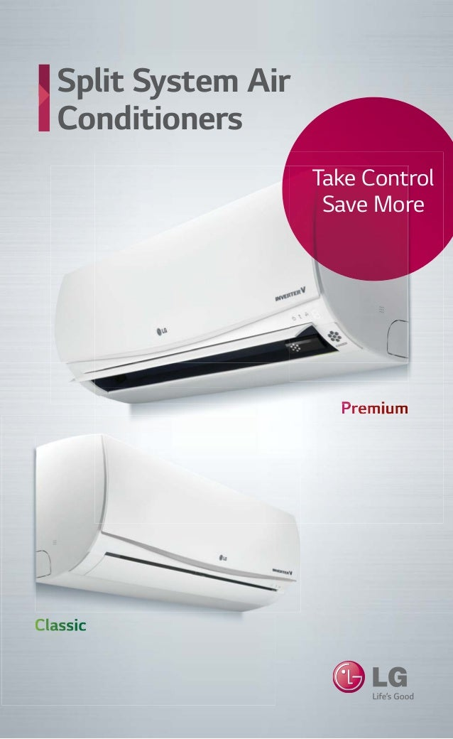 2014 2015 Lg Split System Air Conditioners Catalogue