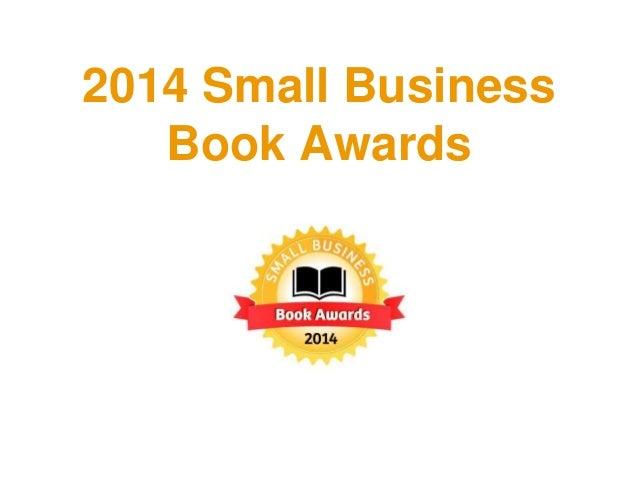 2014 Small Business Book Awards Winners