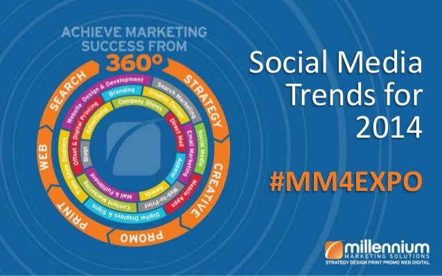 Social Media Trends for 2014 #MM4EXPO