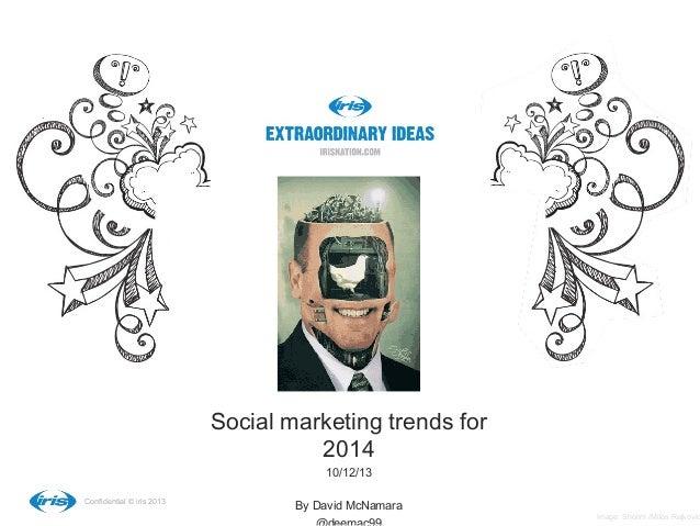 16 social marketing trends for 2014
