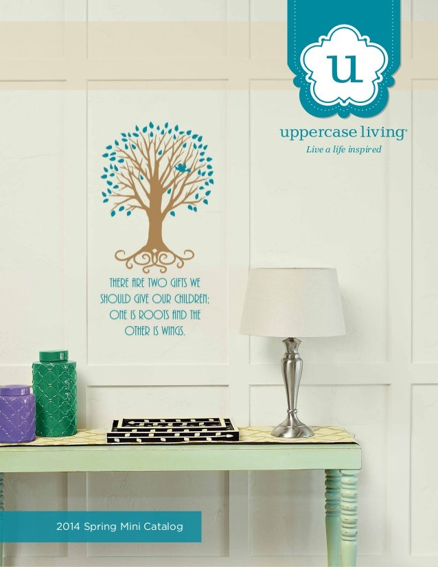 Live a life inspired  2014 Spring Mini Catalog