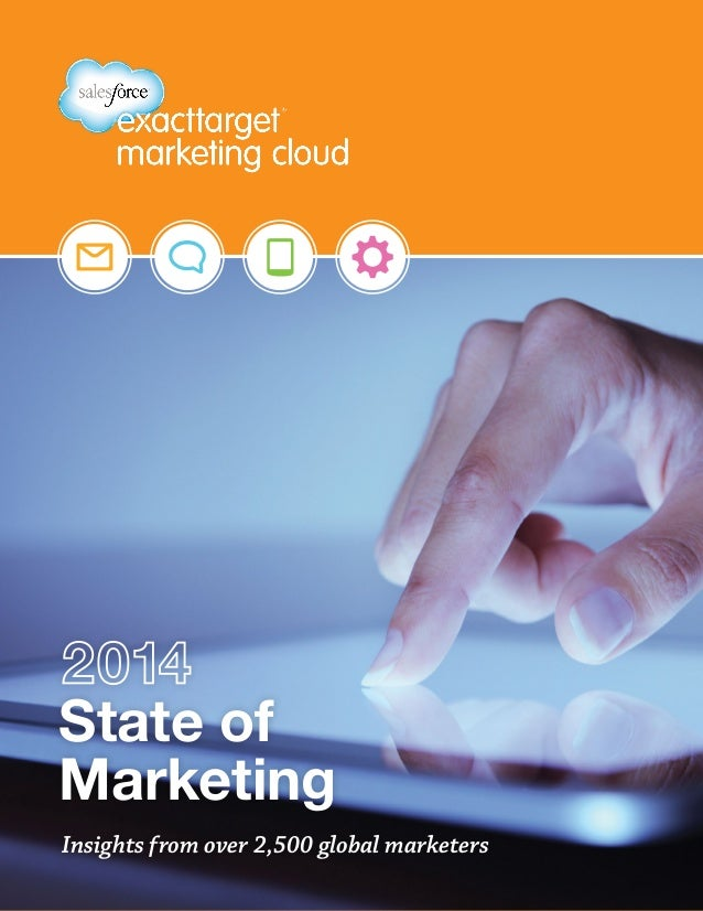 State of Marketing Insights from over 2,500 global marketers