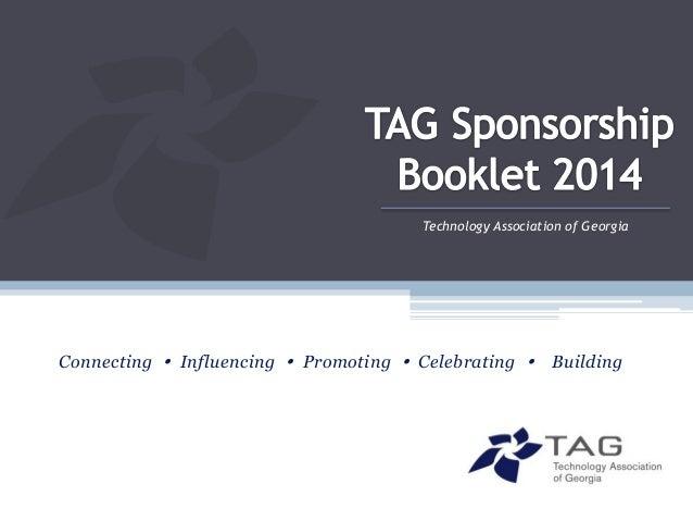 2014 tag sponsorship booklet