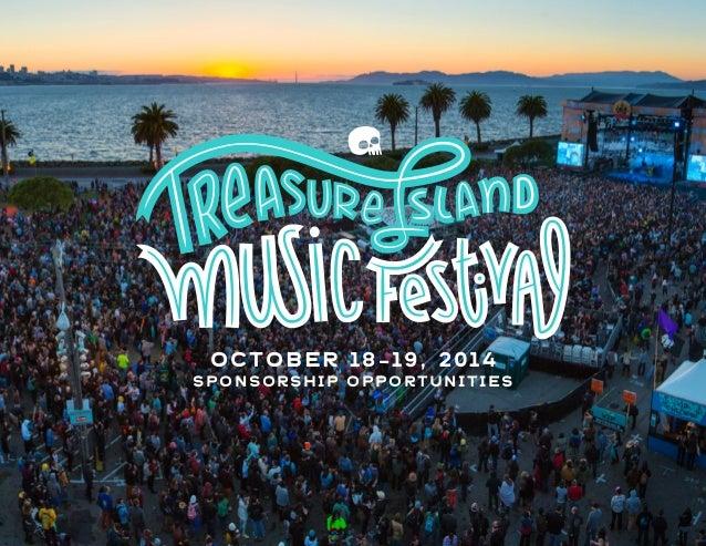 Treasure Island 2014 - Calling All Sponsors & Partners!