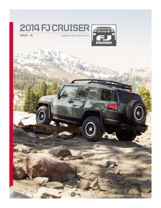 2014 Toyota FJ Cruiser Brochure at Toyota Dealer Serving Peoria