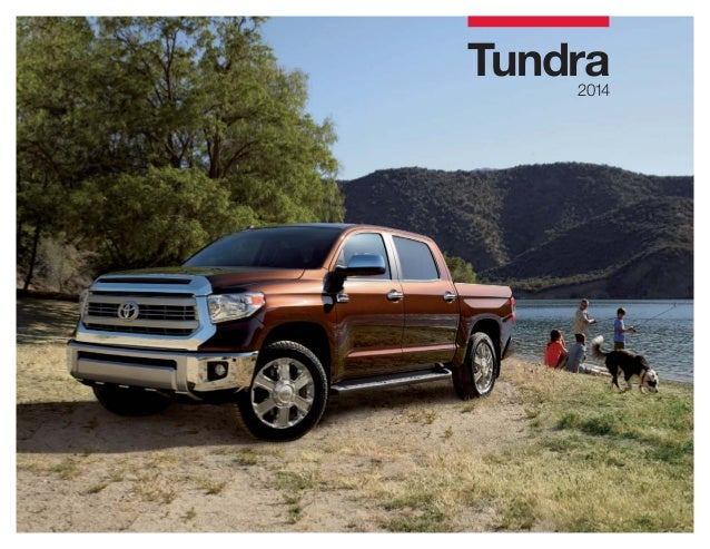 2014 Toyota Tundra Brochure at Toyota Dealer Serving Peoria